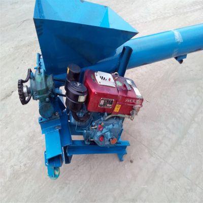 封闭式物料螺旋提升机 兴亚圆管上料机技术参数