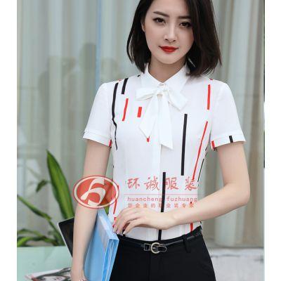 女式衬衫定制 白领衬衫 标准版衬衫 北京衬衫厂家 环诚制衣