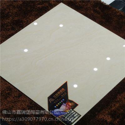 佛山建筑工程地板砖800*800黄色龙脊石抛光砖厂家直销