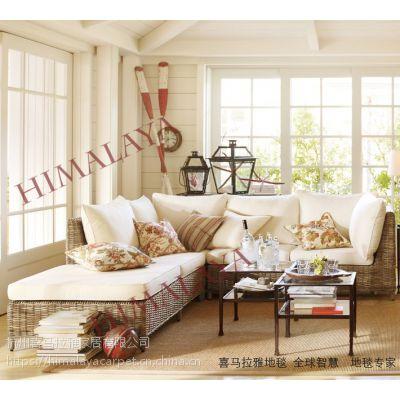 喜马拉雅羊毛 尼龙 绦纶 丙纶 混纺地毯 酒店 办公 卧室 书房 茶几地毯