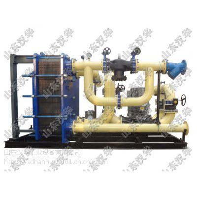 进口丹佛斯板式换热器及换热机(管式换热机组,根据需求,专业定制)