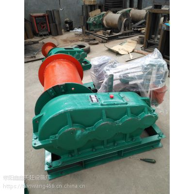 深圳天旺五吨牵引重物自动刹车卷扬机电机驱动