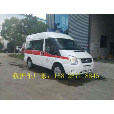 江铃新世代厂家救护车报价 车型齐全 专业配置
