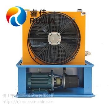液压风冷却器独立循环系统 睿佳冷却器厂家