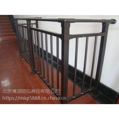 Q235山西喷塑护窗栏杆,仿木纹阳台栏杆 HC,烤漆百叶空调围栏,组装式楼梯扶手