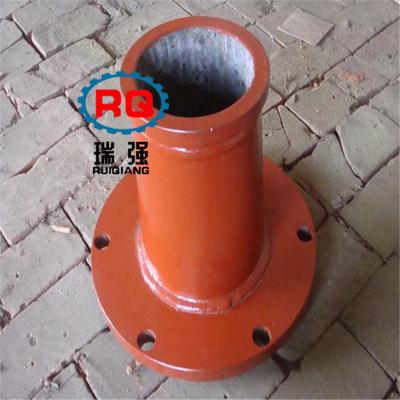 厂家直销砼泵配件三一泵车配件出料口型号齐全