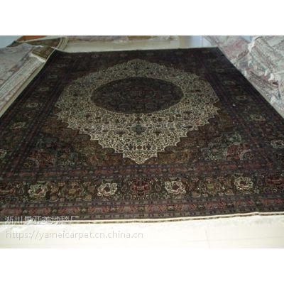 ***新全手工真丝波斯地毯高档奢华手工艺术地毯