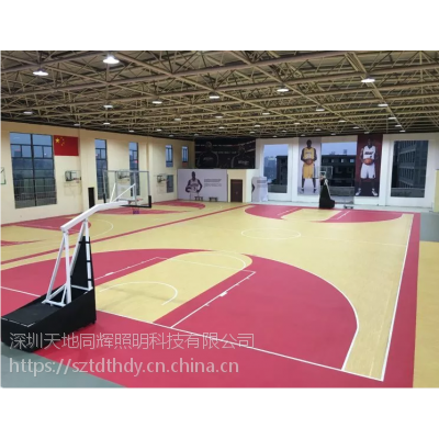 篮球场照明灯具篮球比赛场馆灯光怎么布置篮球场馆灯光布置方案