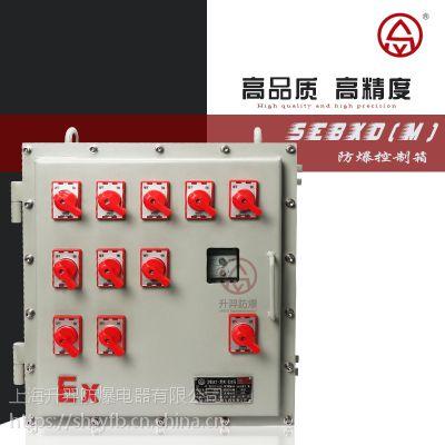 现场防爆仪表箱定做 升羿防爆控制箱 配电箱按钮控制柜 全国供应