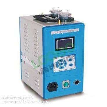 采用溶液吸收法采集烟道污染源中的有害气体智能烟气采样器LB-2型
