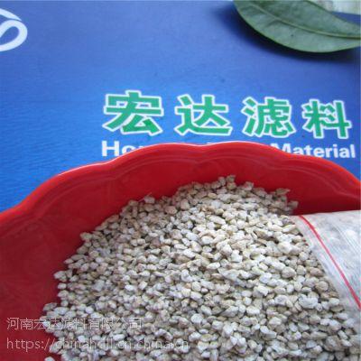 供应批发采购麦饭石滤料,功效与作用,河南宏达滤料厂