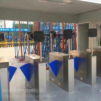 高铁站人证合一翼闸,工厂联网考勤指纹翼闸