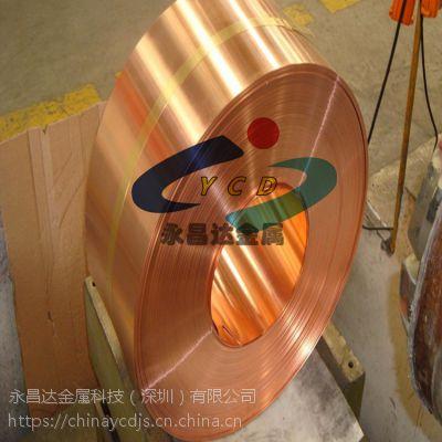 C7025-EH钛铜带 日本NGK钛铜合金带 YCUT-M钛铜板 钛铜带