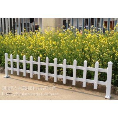 花坛围栏定做,PVC加钢衬围栏,塑钢护栏网安装方便成本低