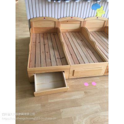 成都幼儿园家具各类实木环保幼儿玩具柜实木课桌椅厂家