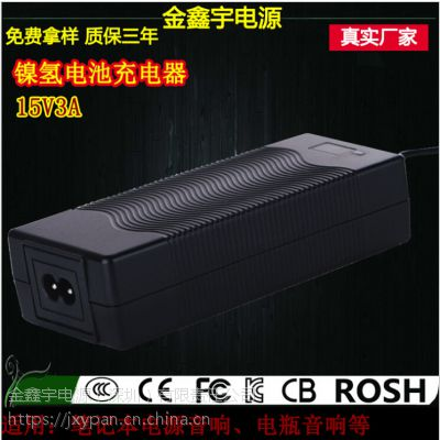 XVE 15V3A镍氢电池充电器制作商 深圳充电器生产厂商免费拿样