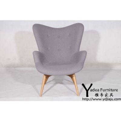 舒服且弹性的简约休闲椅