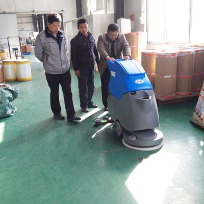 泰安车间电瓶式洗地机,莱芜多功能洗地机