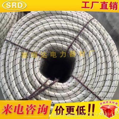 16mm电力施工三四级绳类似迪尼玛高强度涤纶/丙纶/杜邦丝牵引绳
