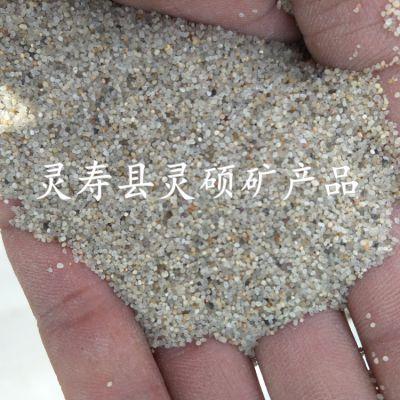厂家批发儿童游乐场专用干净圆粒砂 儿童沙池圆粒海砂