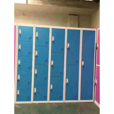 重庆更衣柜 学生 寝室 宿舍 公寓 现代 更衣柜 铁皮衣柜 钢制储物柜 重庆钢制储物柜生产厂家