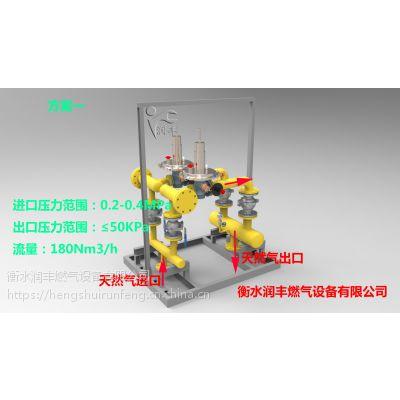 六安润丰燃气调压箱燃气调压计量柜燃气调压撬RX系列