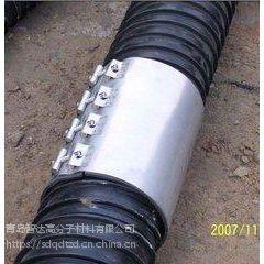 HDPE 塑钢缠绕管用什么方式连接好