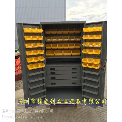 深圳 锦盛利GJG-1122 双开门物料柜,重型螺丝配件柜,双开门重型柜
