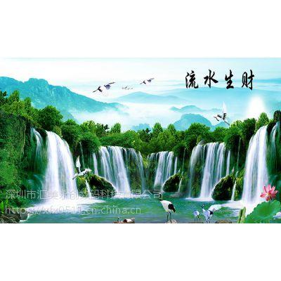 深圳汇美,墙布,PVC,丝绢布中高端任意定制系列。