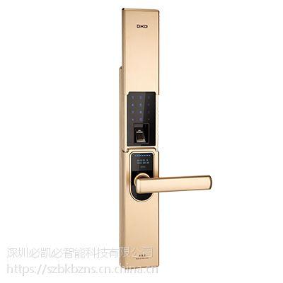 K-1800指纹密码锁(香槟金)-智能锁供应-深圳必凯必