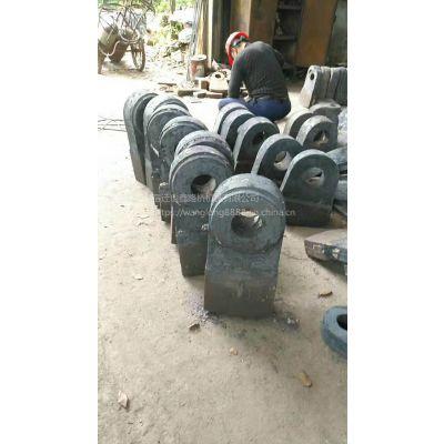 供应双金属合金复合锤头锤式破碎机石料厂鹅卵石