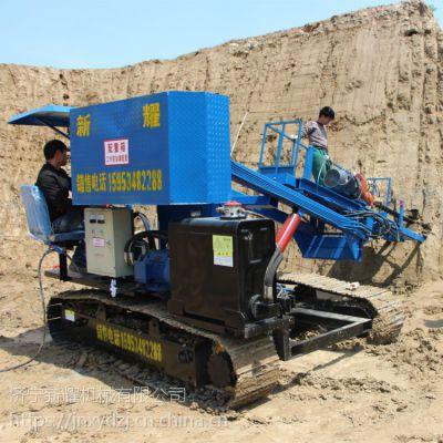 邢台锚杆光伏护坡钻机厂家 履带式锚固钻机