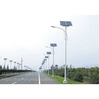 供应中山市好恒照明HAH-TYNLD-306米30W乡村太阳能路灯 太阳能庭院灯 质保三年