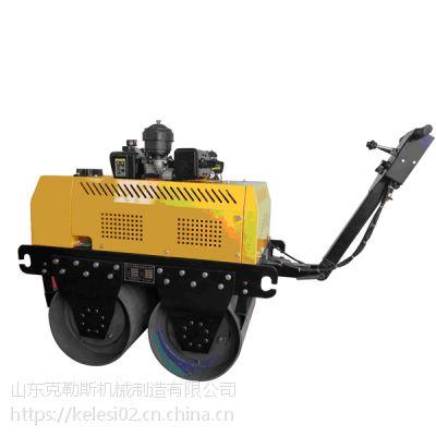 齐齐哈尔地区热销的路面压实机械 克勒斯小型双钢轮压路机