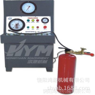 河北供应灭火器MDG1.7型氮气充装机@豪日灭火器氮气冲压机多钱