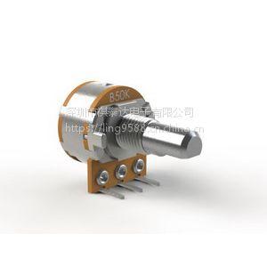 供应R1610NS带开关旋转电位器,生产制造微型