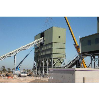 搅拌站钢结构支架出口厂家选三维钢构 行业品牌更放心
