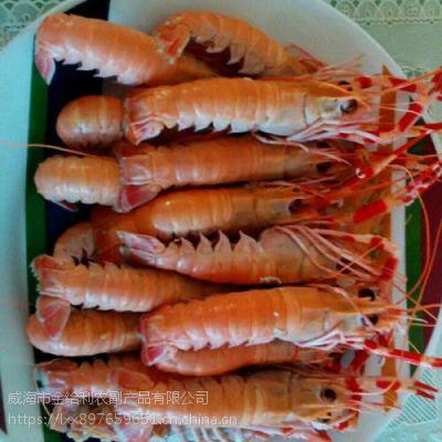 新鲜冷冻海龙虾产地 小龙虾刺身海鳌虾 500g