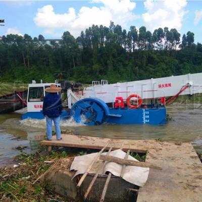 河道水面割草船 清理水葫芦船优惠报价
