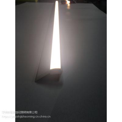 雅祺厂家直销led防水防爆楼梯台阶脚踏踏步照明硬灯条楼梯铝槽灯条