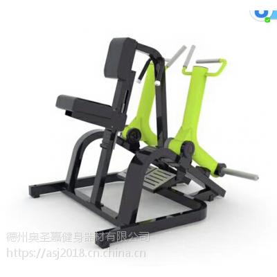 商用坐式划船训练器大型健身器材德州奥圣嘉ASJ-Z964尺寸1180*1388*1247mm