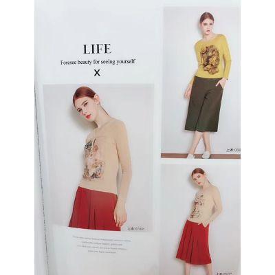 内蒙古品牌女装拿货价格 衣之庄园尾货女装一手货源