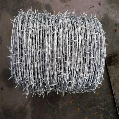 刺绳围栏 热镀锌刺绳 正反拧刺线