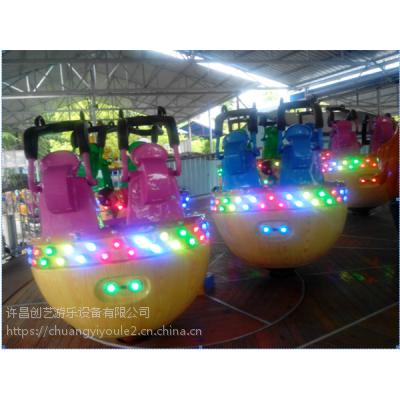 许昌公园旋转类24座魔幻陀螺游乐设备创艺售后服务完善厂家定制畅销