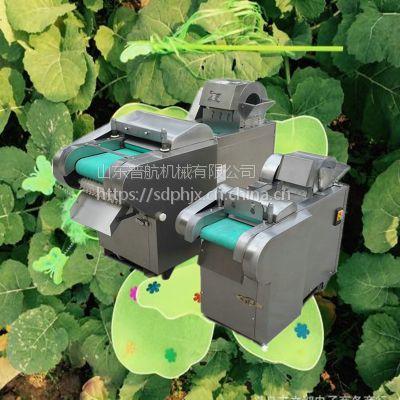 普航豆干切丝机 不锈钢蔬菜切丁机 蒜台切段机 切丁机