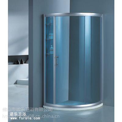 佛山诺乐淋浴房厂家R-012简易淋浴房配件供应淋浴房门