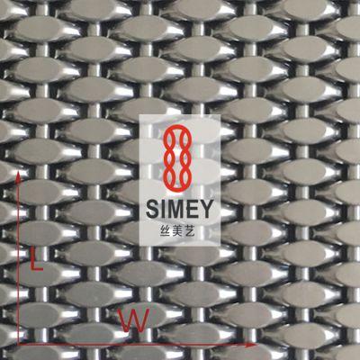 丝美艺硬装系列XY-1548耐磨耐划电梯间专用304不锈钢网金属网