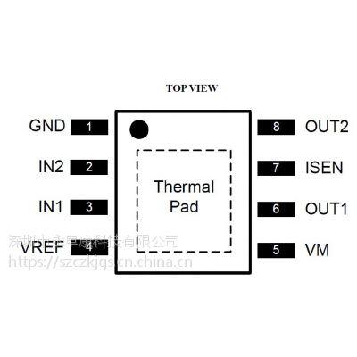 DRV8870/A4950/AT8870(3.6A单通道刷式直流电机驱动IC)