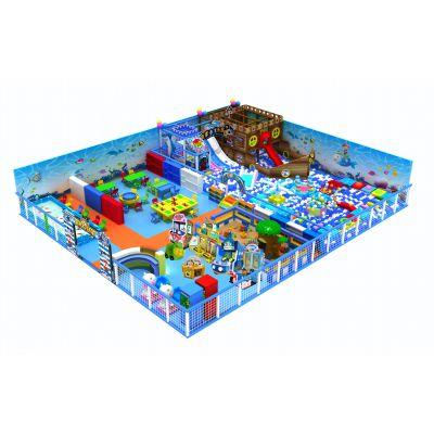 大型室内儿童淘气堡 儿童乐园游乐场设备 淘气堡设备厂家