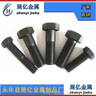 高强度螺栓 紧固件 普通螺栓 10.9级高强度螺栓丝生产加工厂家